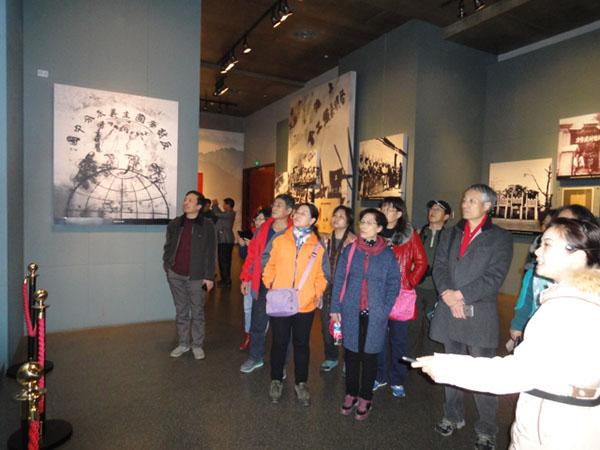民盟石家庄市委组织骨干成员 赴井岗山进行红色革命教育